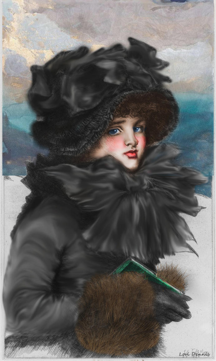 Winter Lady by LoriDennis55