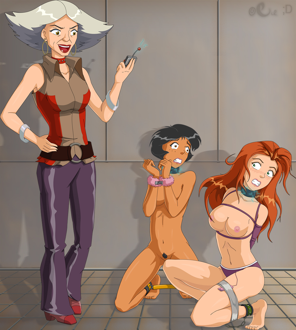 Totally spies tied up naked — photo 1