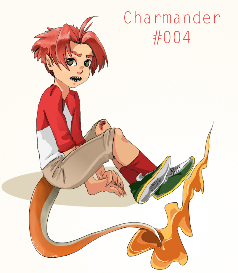 #004 Charmander by SatanHime