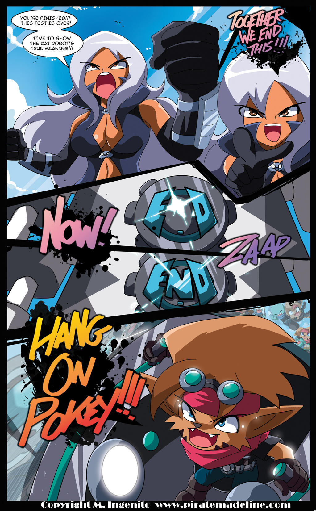 Pokey and Hokey vs Together!!! by Randommode
