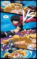 The Pirate Madeline Page 16: Random Vs Madeline! by Randommode