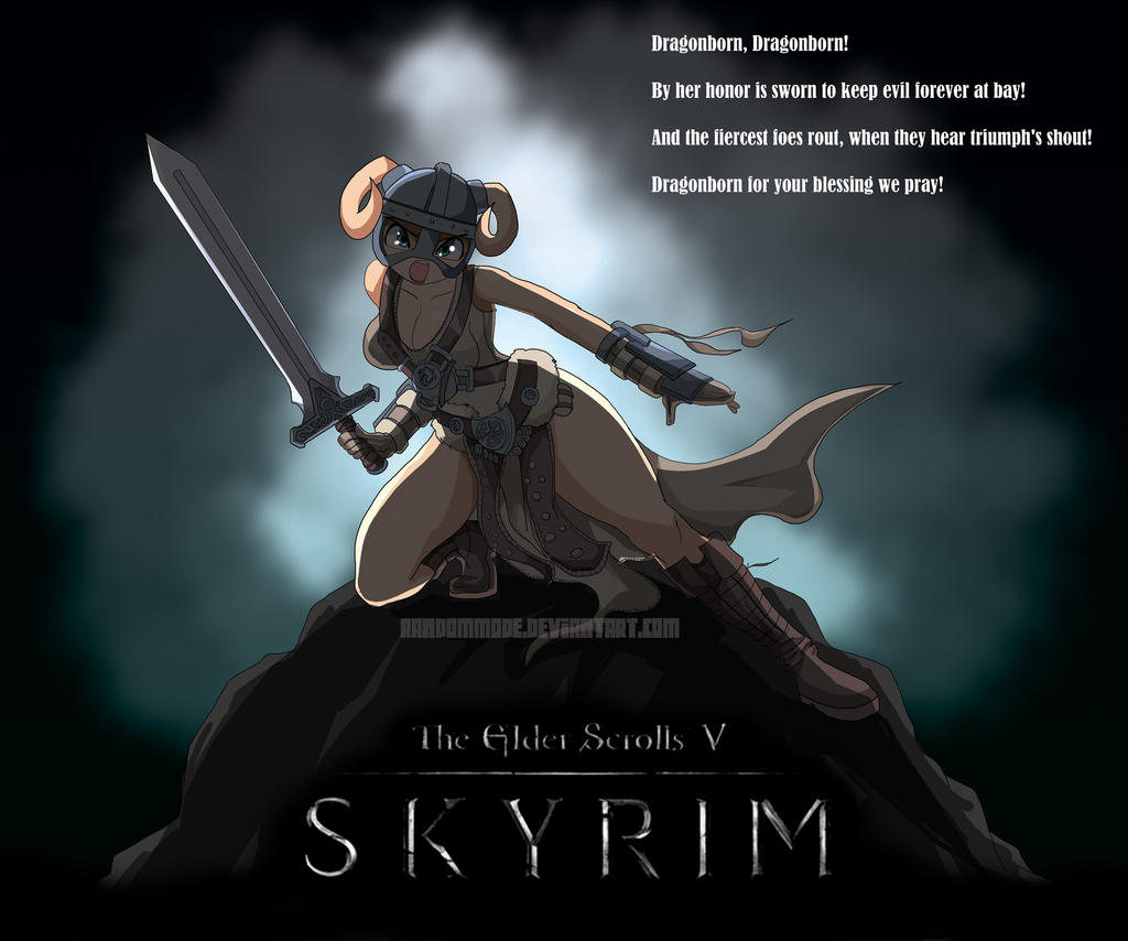 SKYRIM Anime Style by Randommode
