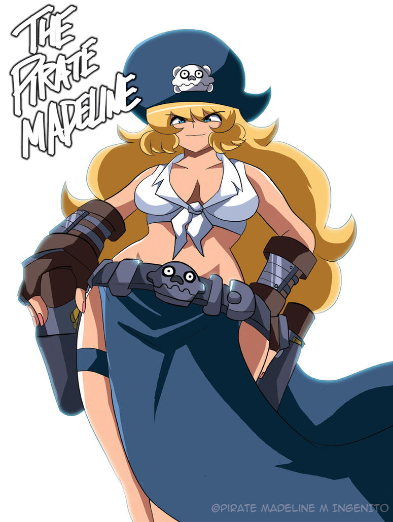 The Pirate Madeline Poster 2 by Randommode
