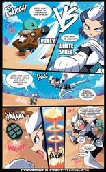 Pokey VS White Saber by Randommode
