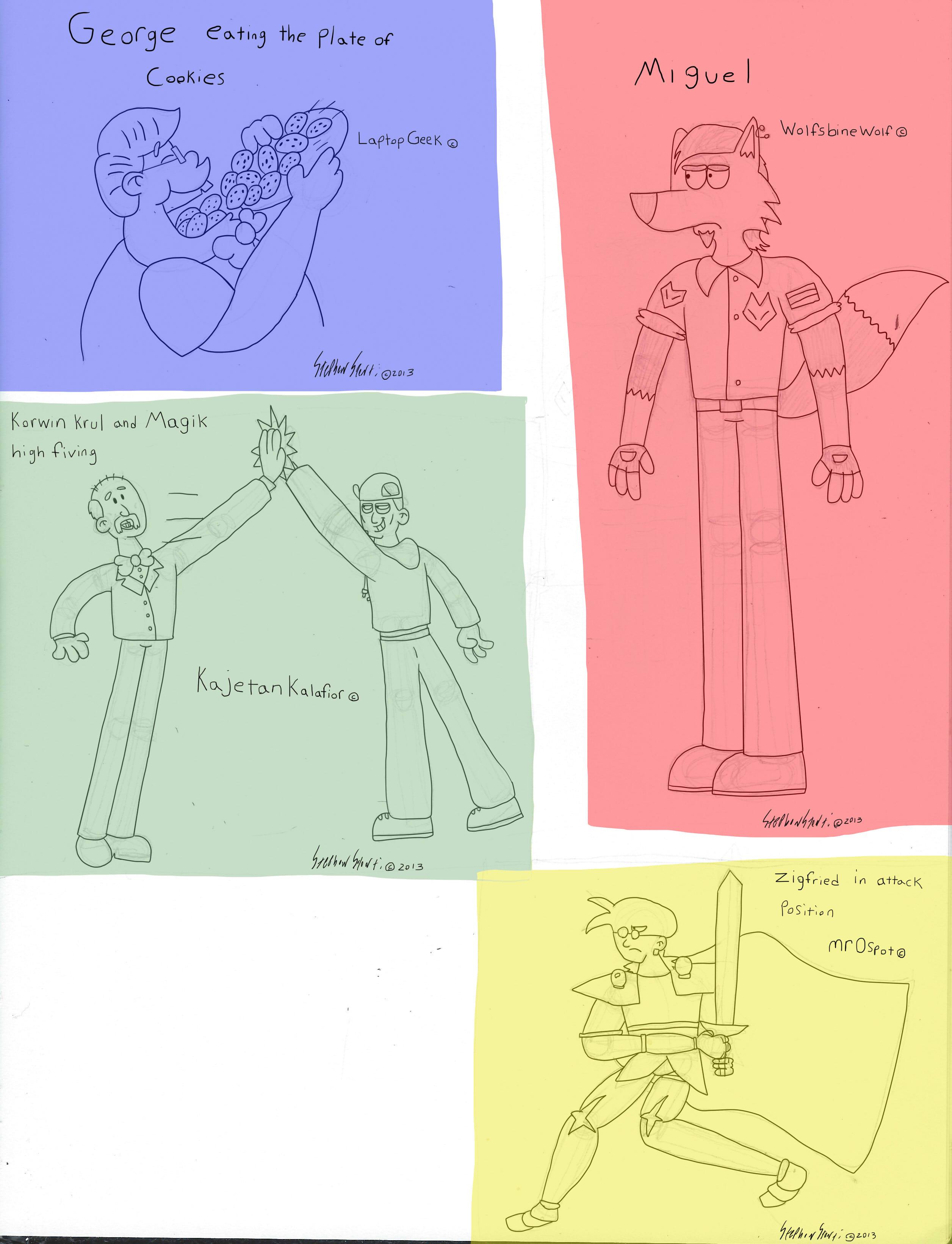 4 sketch request by stevostorti