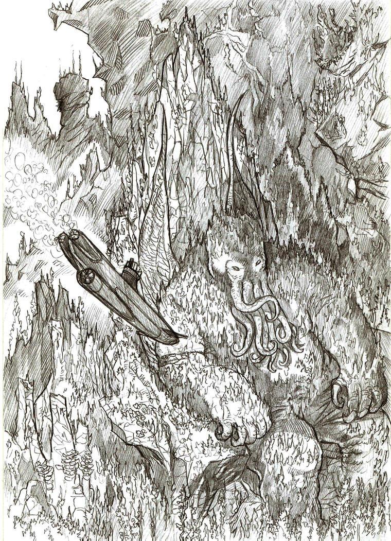 Cthulhu by yacermino