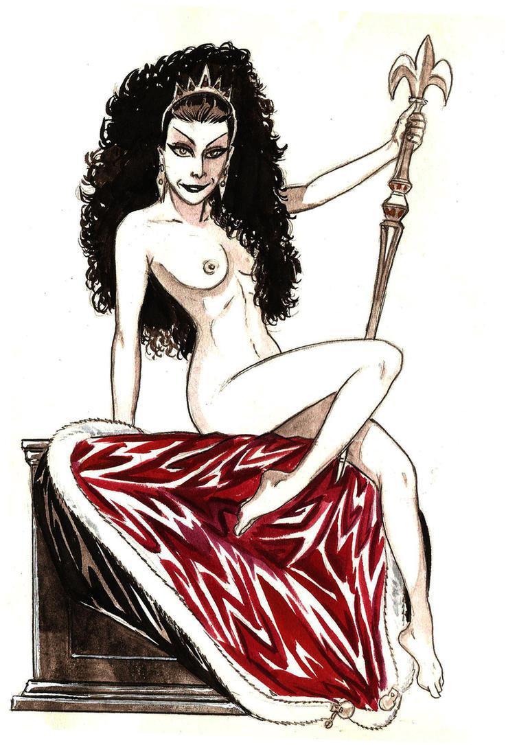 Naked Duchess by yacermino