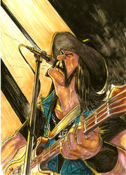 Lemmy Kilmister by yacermino