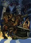 Minotaur Vs Berzerker dwarf