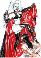 Lady death vs vampirella - prologue by yacermino