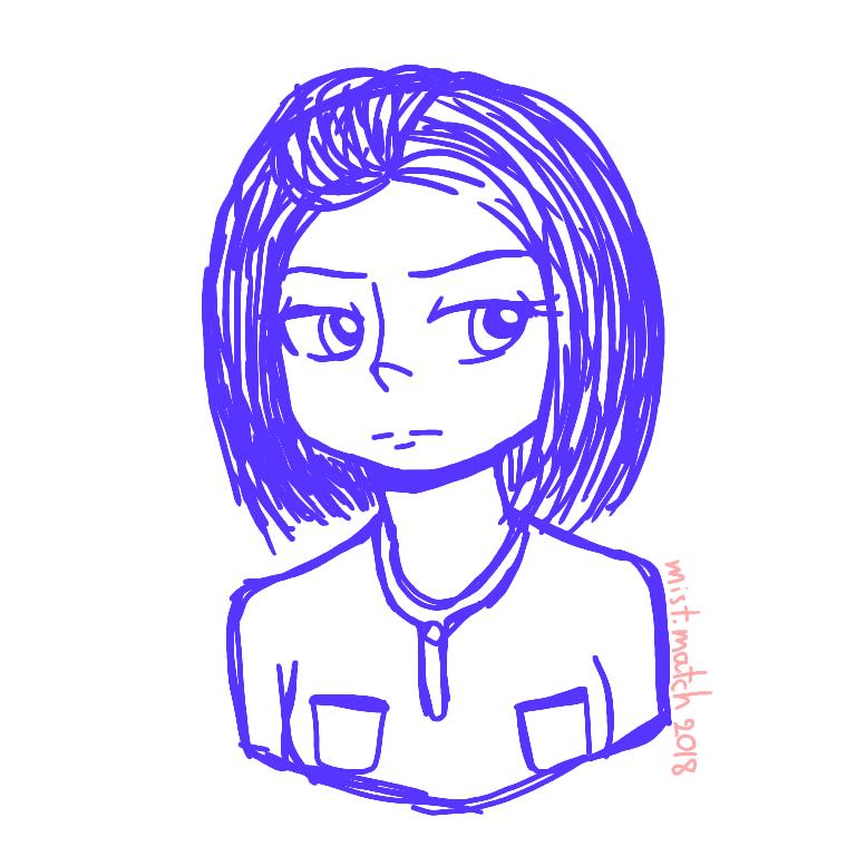 Sketch: My GF by Dogey290