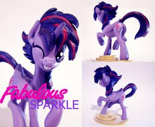 FiM: Fabulous Sparkle by MrMadDoge