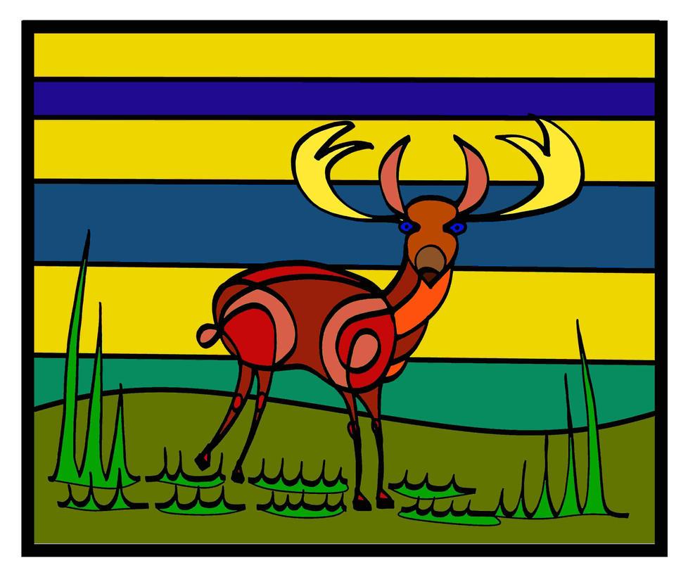 Deer by peterhaeusser