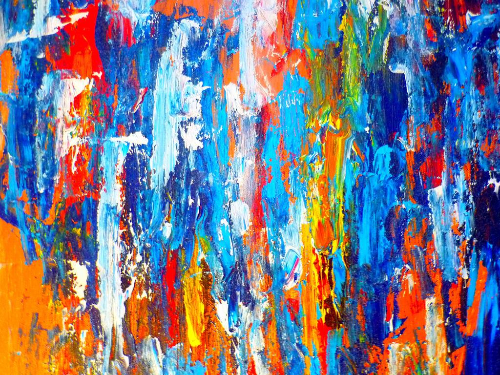 Abstract Art - Colours - Peter Haeusser by peterhaeusser