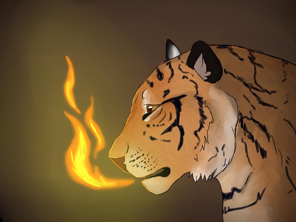 Tiger by BlackBloodX