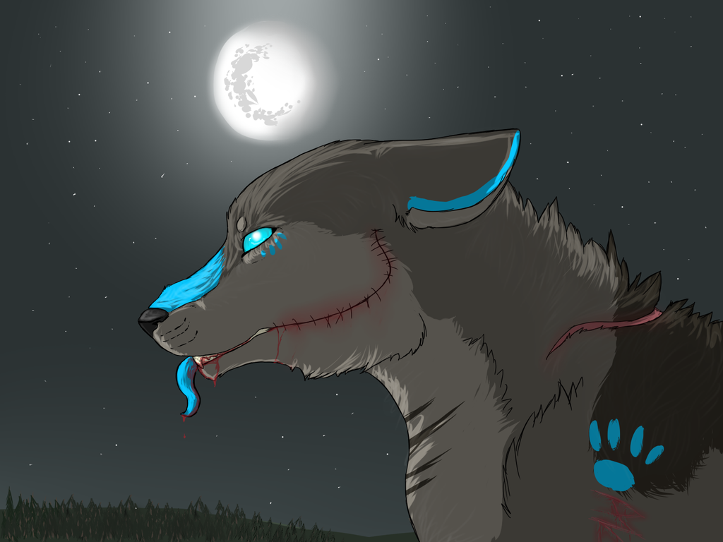 Shivers in the moonlit night by BlackBloodX