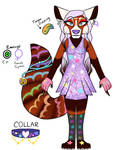 Goth Pastel Red Panda Adopt (OPEN) by 18Gingasoldier