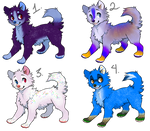 Themed Dog Adopts (OPEN) by 18Gingasoldier