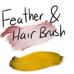 Feather and Hair Brush (FA)