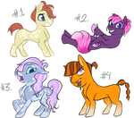 MLP Adopts #1 (OPEN) by 18Gingasoldier