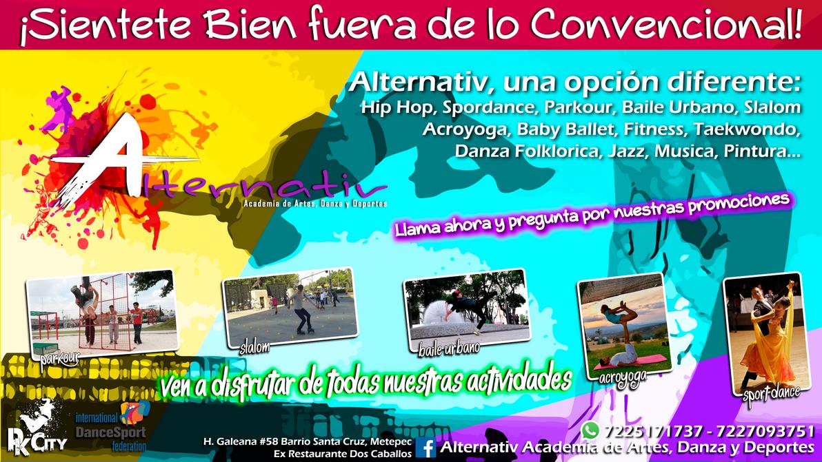 Alternativ Academia de Artes, Danza y Deportes by POKETAZ