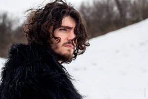 Jon Snow cosplay by shproton