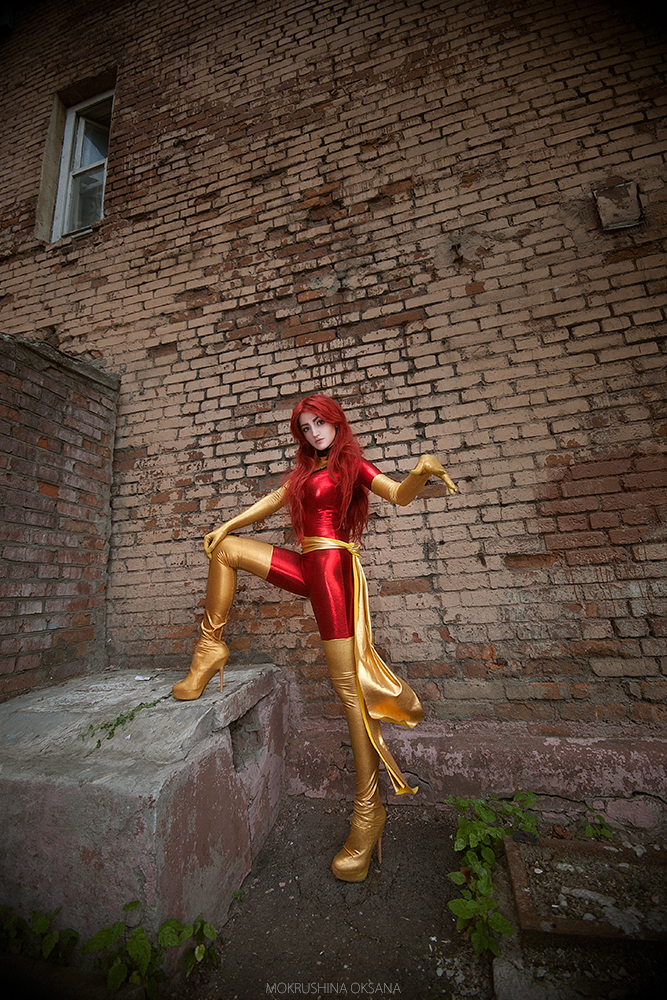 Jean Grey Phoenix cosplay by MrProton
