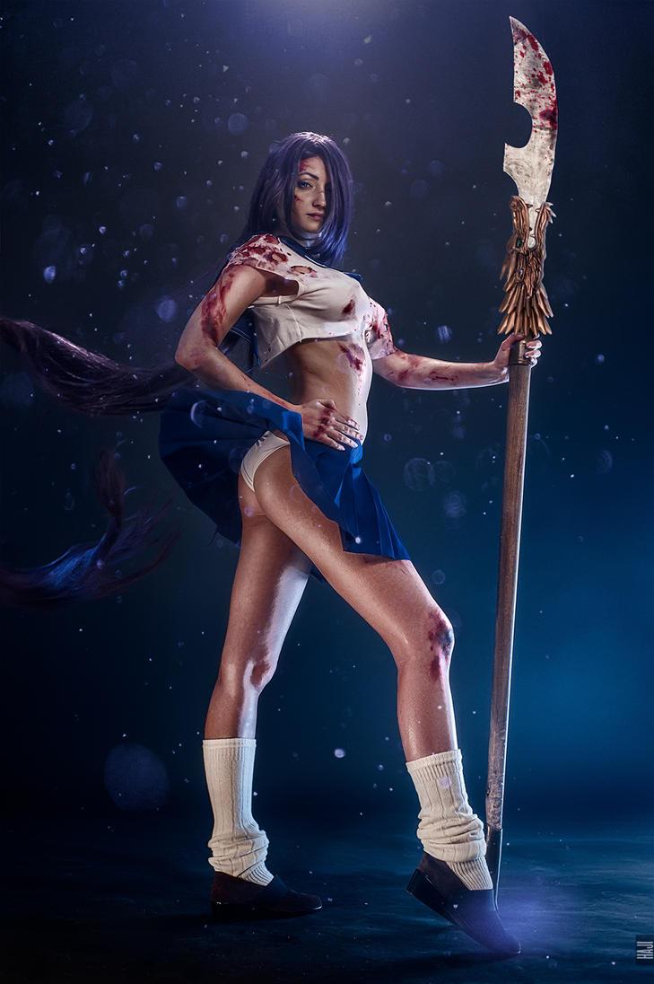 Kanu Unchou - IkkiTousen cosplay by MrProton