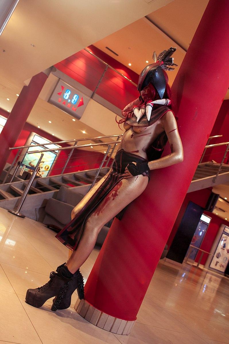 DotA2 Bloodseeker cosplay by shproton on DeviantArt