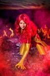 Phoenix Jean Grey cosplay