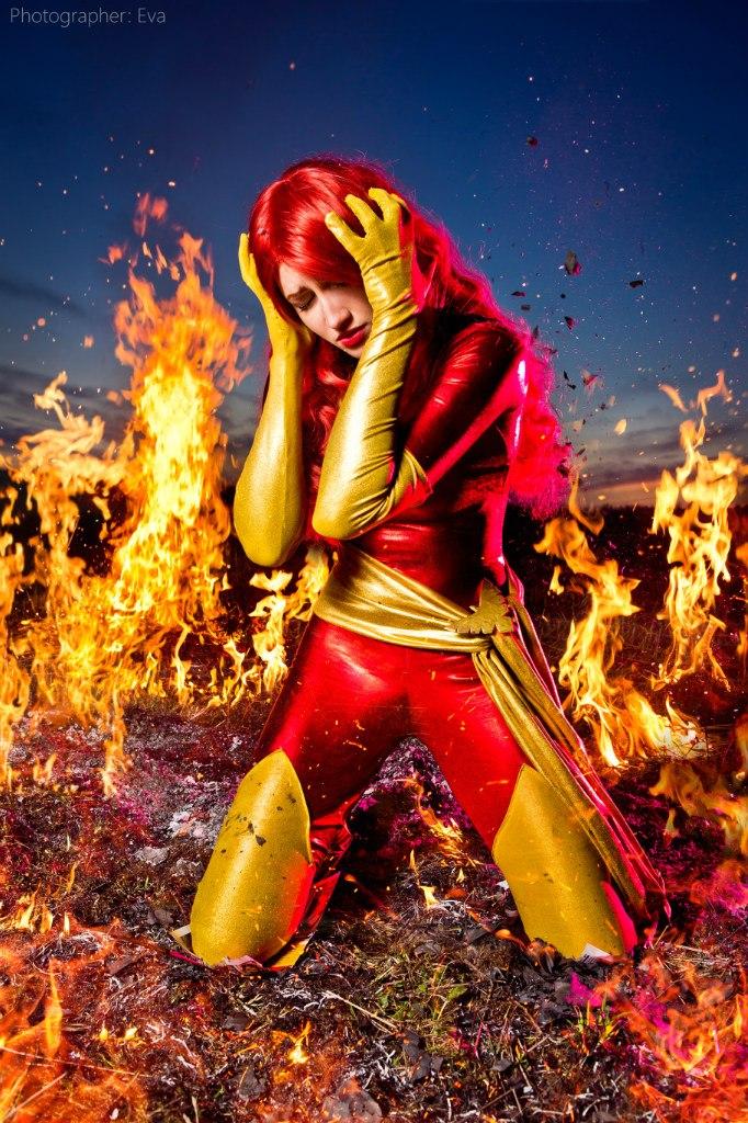 Phoenix Jean Grey cosplay by MrProton