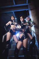 Starlights Sailor Moon Cosplay by shproton