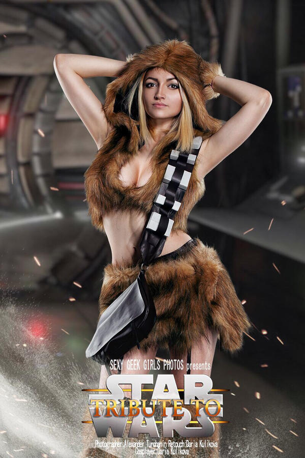 Star Wars - Chewbacca cosplay by shproton