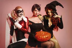 Halloween Gotham Ladies by shproton