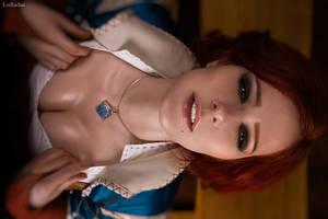 Triss Merigold Witcher Cosplay