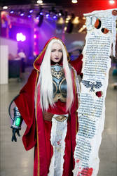 Warhammer Astropath Cosplay by shproton