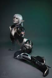 Lineage Dark Elf Cosplay