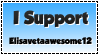 I Support: Elisavetaawesome12 by TheOneAndOnly-K