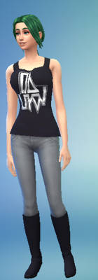 Samantha Olixis In Sims 4
