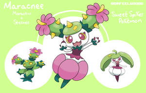 Maracnee - Pokemon Fusion