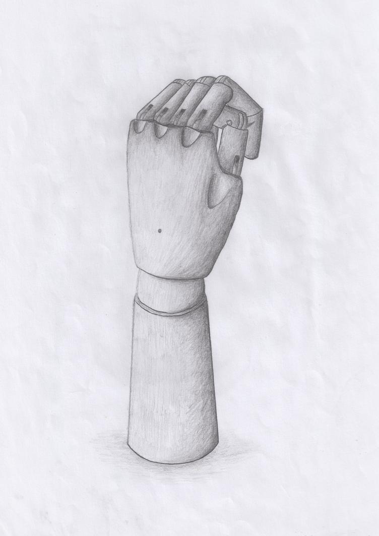 Manikin Hand by luzudemcas