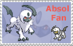 Absol Fan Stamp by StampMania