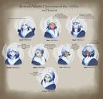 Retired Atlantic Hurricanes, Humanized - 1950's