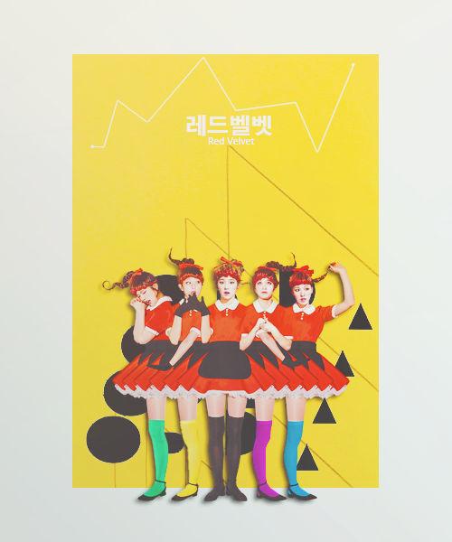 Wallpaper Graphic Red Velvet Dumb Dumb By Reikashinonome
