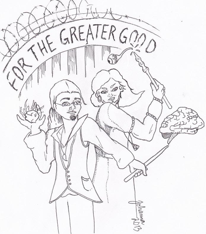 For greater good black