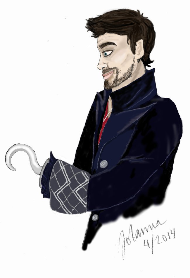 Captain Hook aka Killian Jones