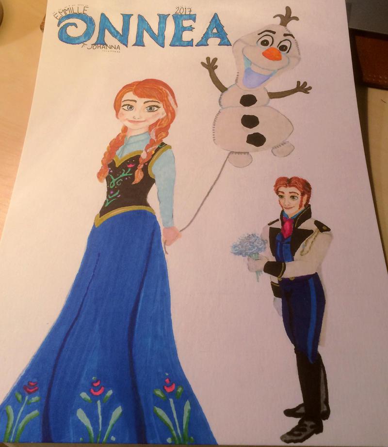Anna and Hans -birthdaycard