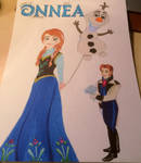 Anna and Hans -birthdaycard
