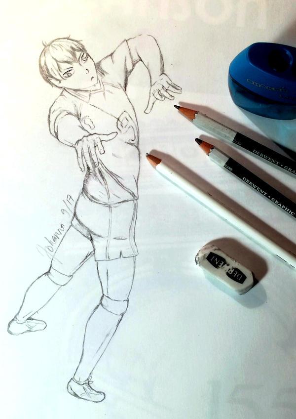 Tobio Kageyama sketch