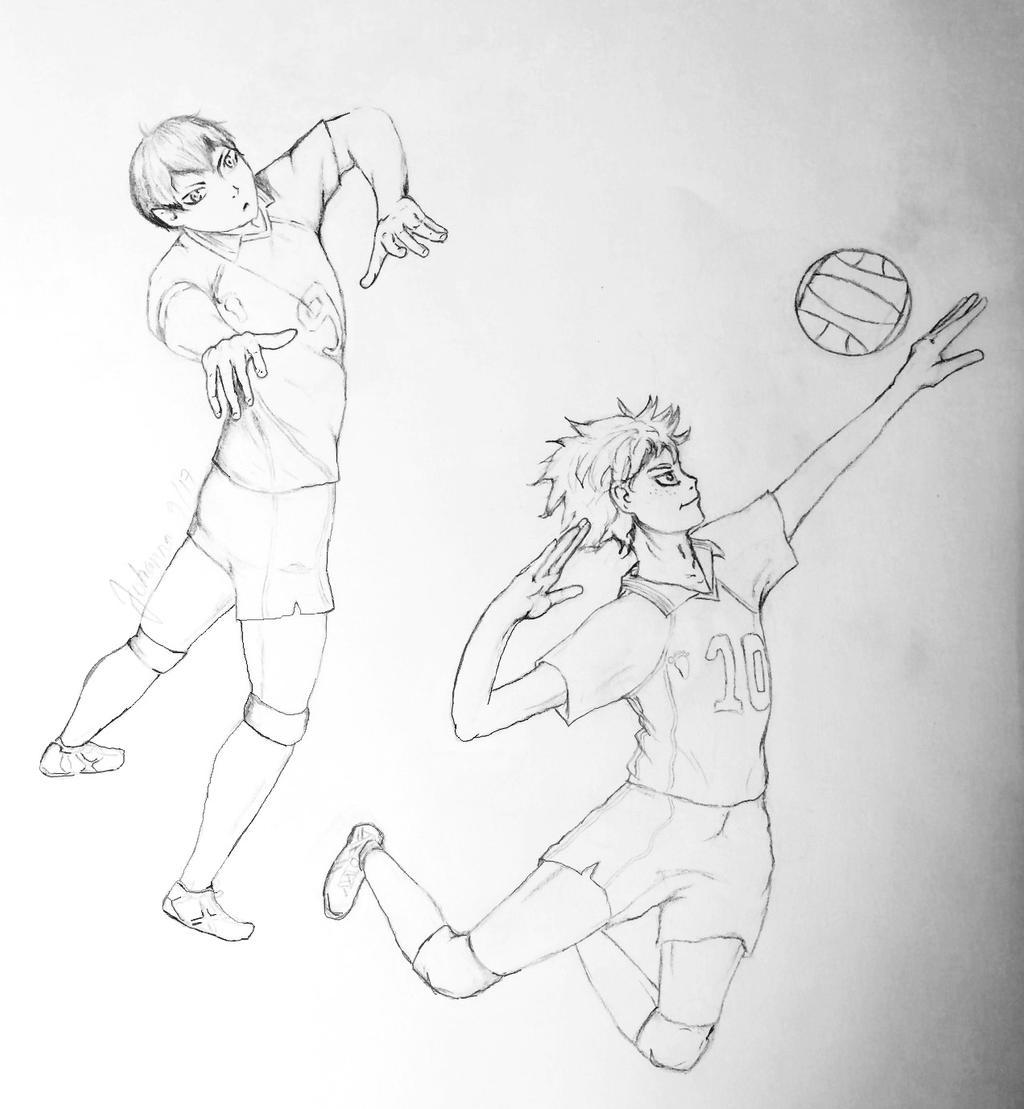 KageHina Sketch